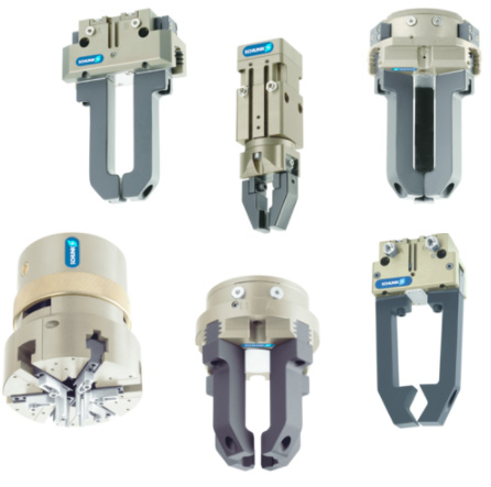 Schunk grippers