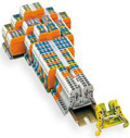 Wago Cage Clamp Din Rail Mounted Terminal Blocks